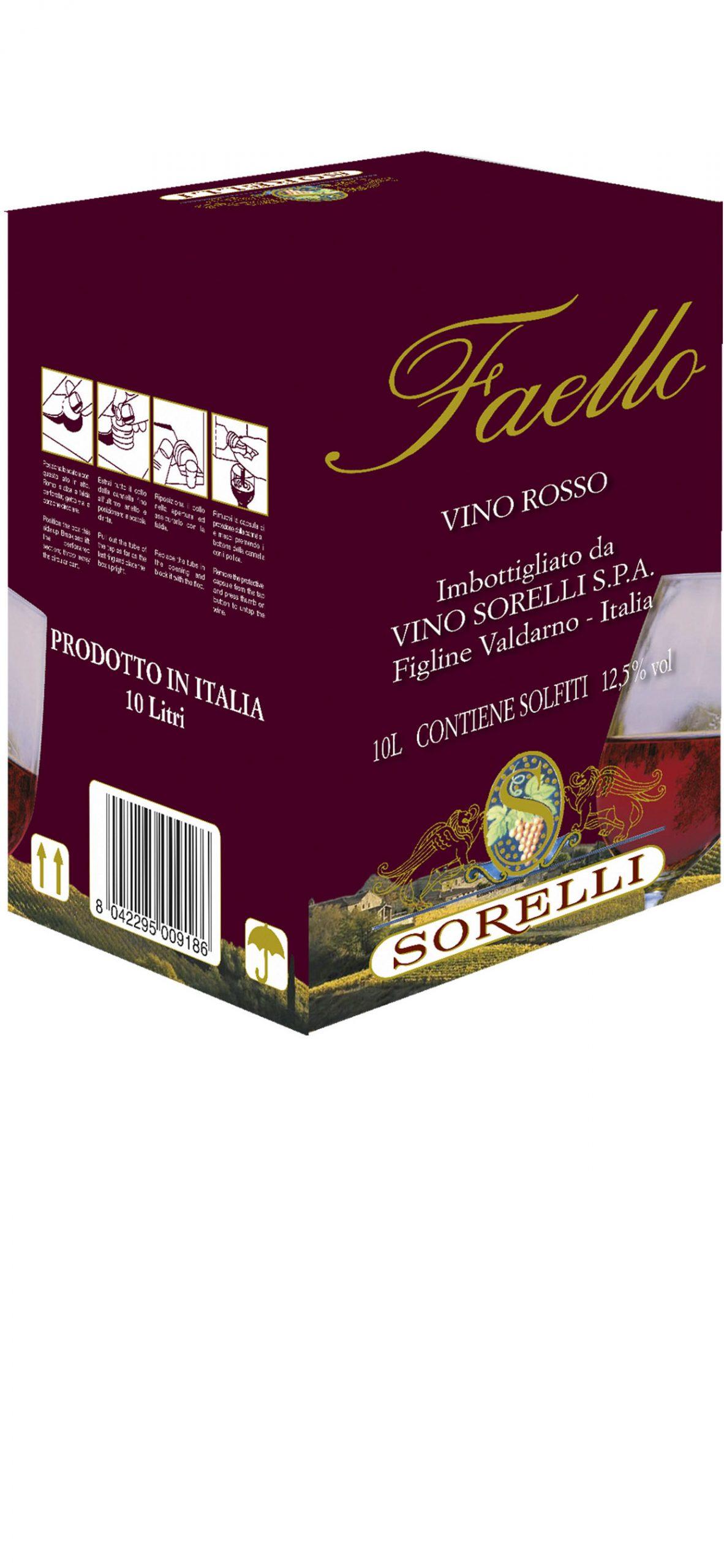 Bag Vino Rosso