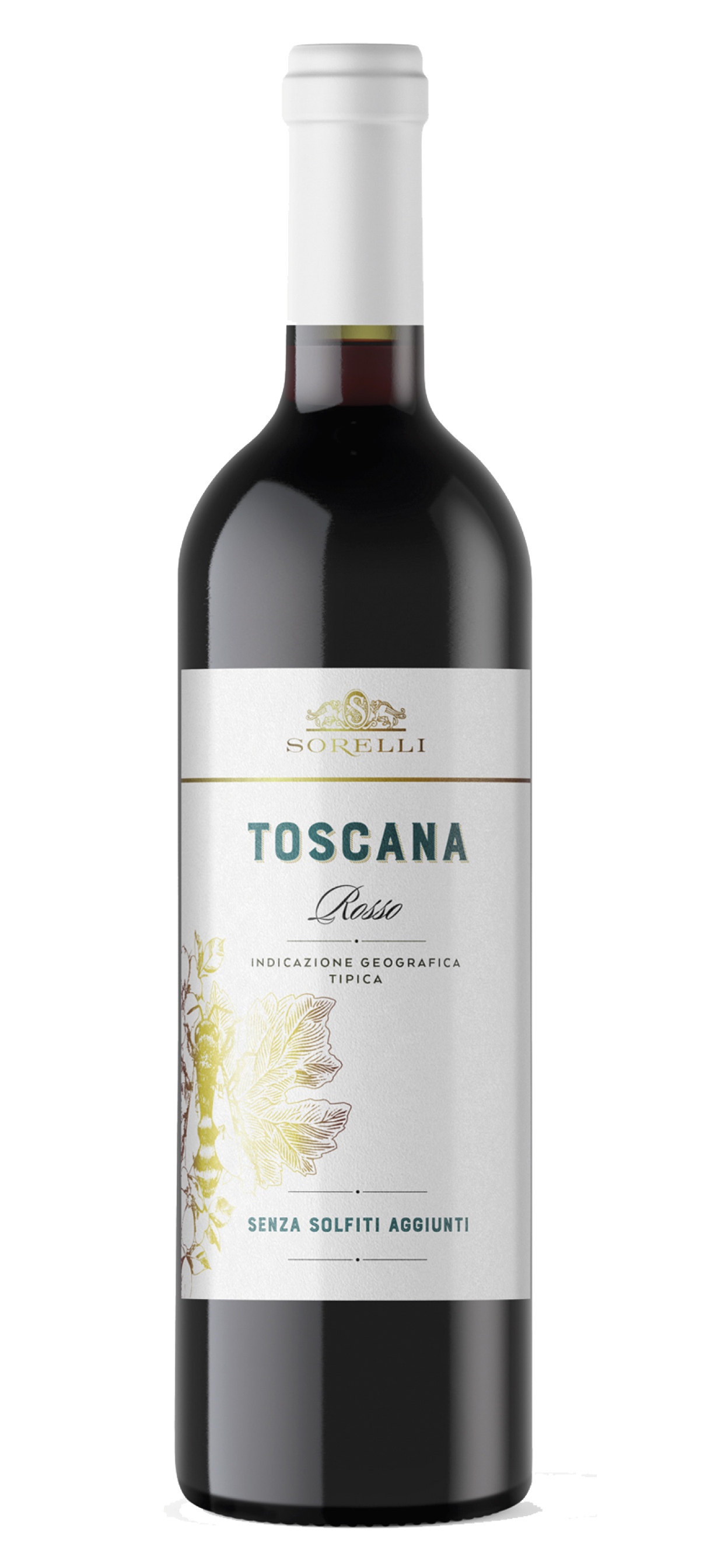 TOSCANO ROSSO WITHOUT SORELLI